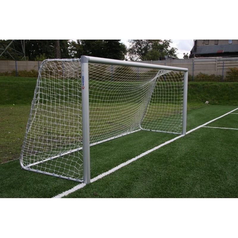 Bramka do piłki nożnej przenośna 5x2 m aluminiowa składana