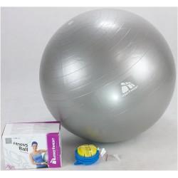 Piłka fitness 85cm z ABS z pompką METEOR