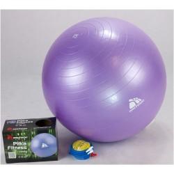 Piłka fitness 75cm z ABS z pompką METEOR