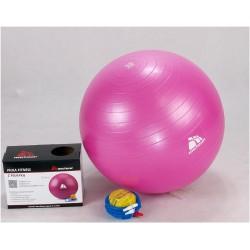 Piłka fitness 55cm z ABS z pompką METEOR