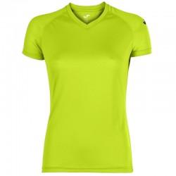 Koszulka biegowa damska JOMA Event limonkowy
