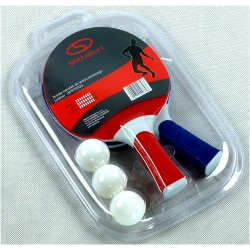 Zestaw do tenisa stołowego 2 rakietki + 3 piłeczki SMJ 15PR151023