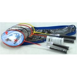 Komplet do badmintona MAGIC Speedbird - 4 rakiety + 3 lotki