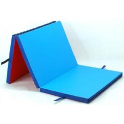 Materac składany rehabilitacyjny, fitness twardy 180x80x5cm