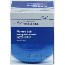 Piłka fitness 55cm z ABS z pompką SMJ