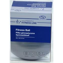 Piłka fitness 65cm z ABS z pompką SMJ