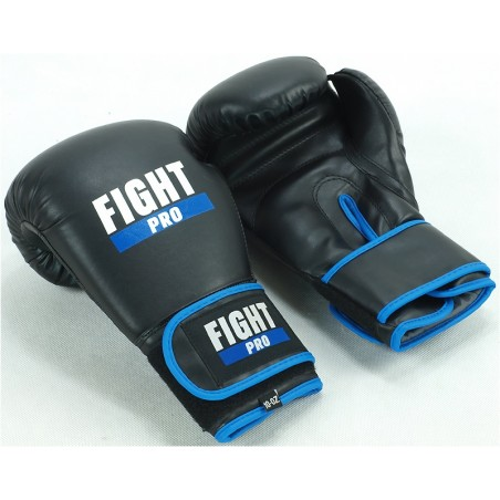 Rękawice bokserskie FIGHT PRO BASIC czarne