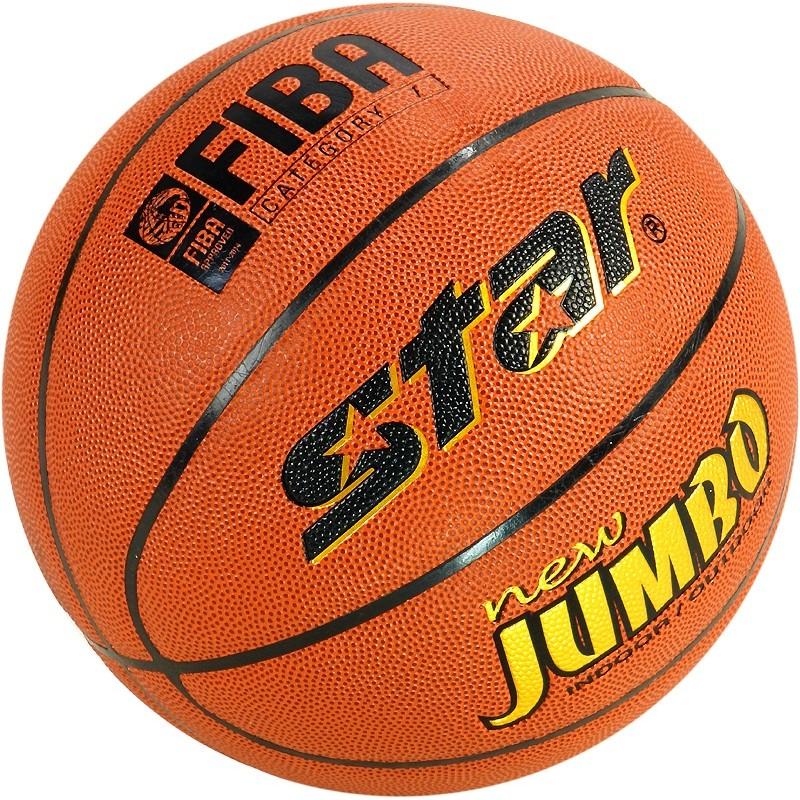Piłka do koszykówki STAR BB417 Jumbo FIBA (7)