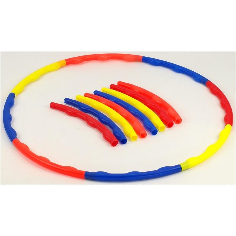 Hula hop składane z wypustkami 77cm