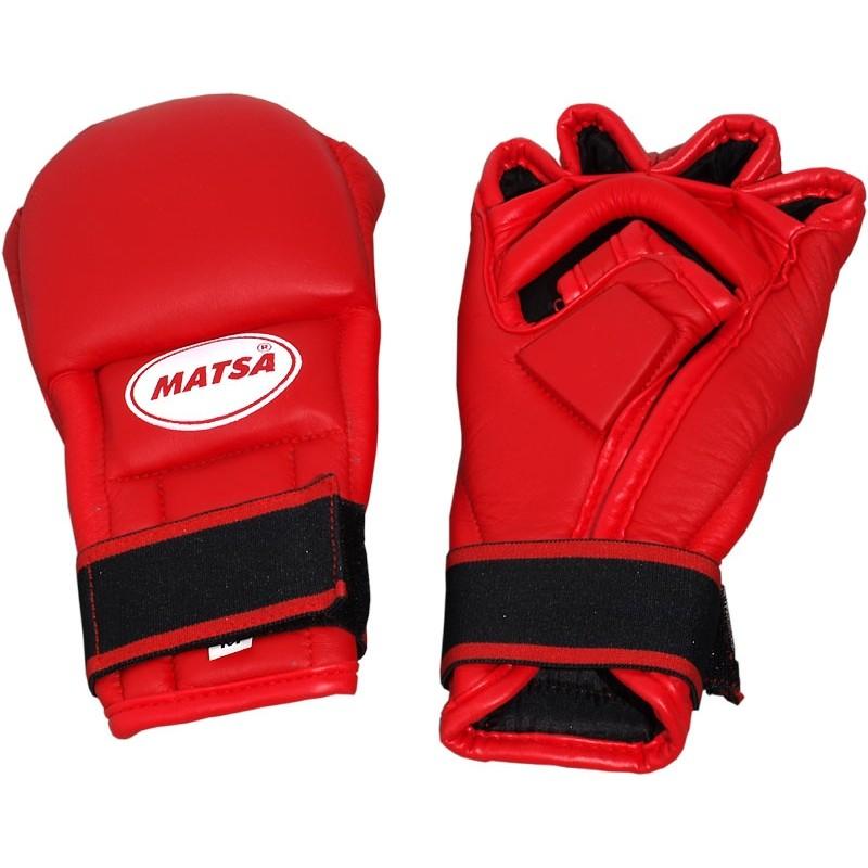 Rękawice do MMA czerwone MATSA