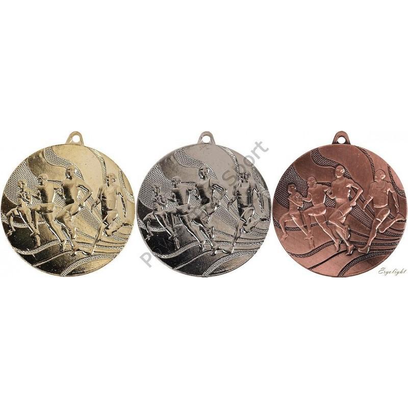 Medal biegi 2350 kpl 3szt. śr.50mm