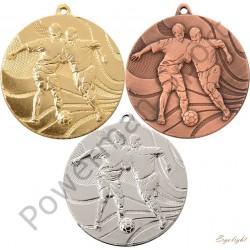 Medal piłka nożna 3650 kpl 3szt. śr.50mm