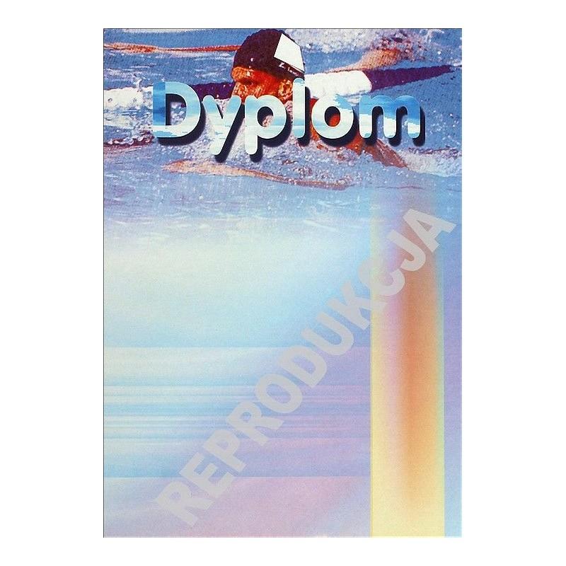 Dyplom pływanie D12