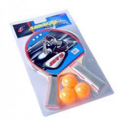 Zestaw do tenisa stołowego Jet 5 - 2 rakietki + 3 piłeczki
