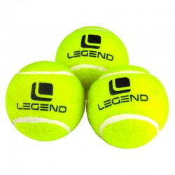 Piłki tenisowe 3szt. LEGEND