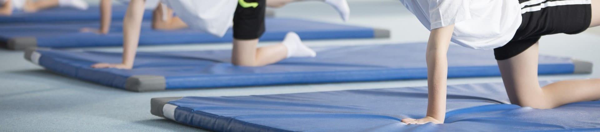 Materace składane rehabilitacyjne i do fitnessu – Powerman Sport